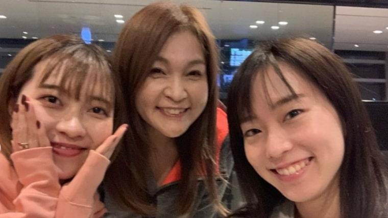 石川佳純、妹、石川梨良、画像